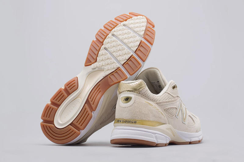 cheap for discount 22796 5d61b New Balance 990v4 Off-White Pigskin Suede | HYPEBEAST