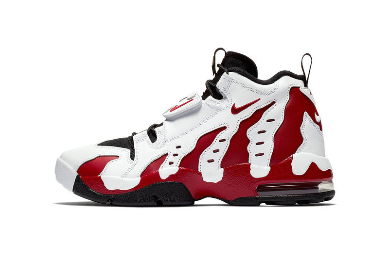 Nike Air DT Max 96 White Red Black Deion Sanders 2018 retro spring summer release date info drop sneakers shoes footwear