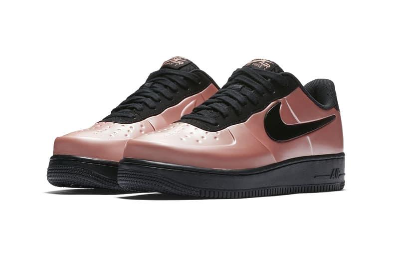 Nike Air Force 1 Foamposite Metallic Pink black footwear 2018 Nike Air Foamposite