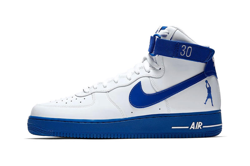 timeless design 12a19 1c09b Nike Air Force 1 High Rude Awakening Rasheed Wallace release first look  sneakers blue white nba
