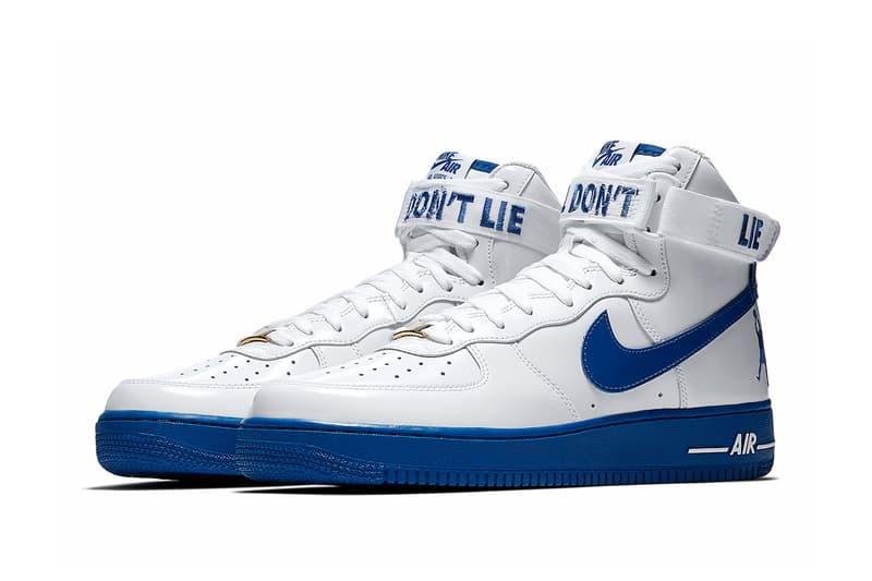 943ad5771210 Nike Air Force 1 High Rude Awakening Rasheed Wallace release first look  sneakers blue white nba