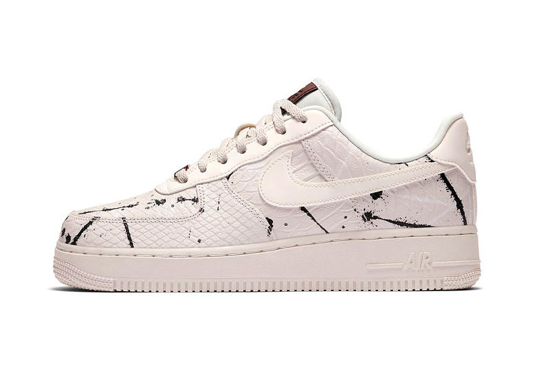 "Nike Air Force 1 ""Phantom Snakeskin"" release date nike uk gold metallic accents"