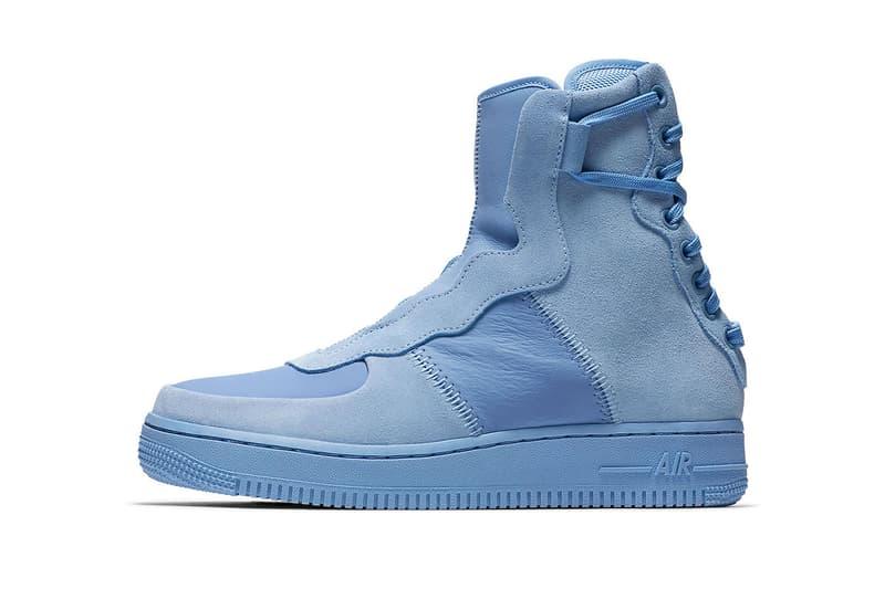 Nike Air Force 1 Reimagined Pack Official Look Explorer Teal Blue Orange Lover Green Sage Purple Jester Rebel