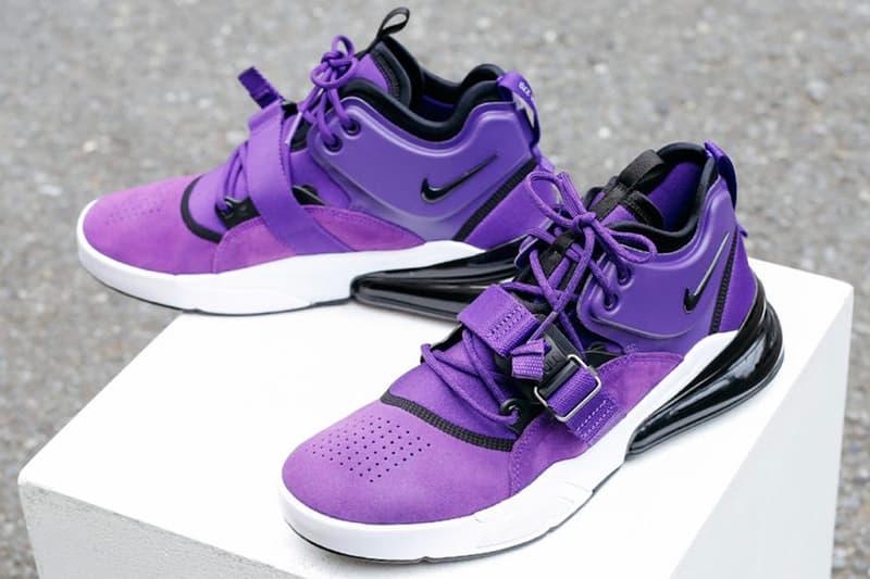 Nike Air Force 270 Court Purple release info sneakers footwear