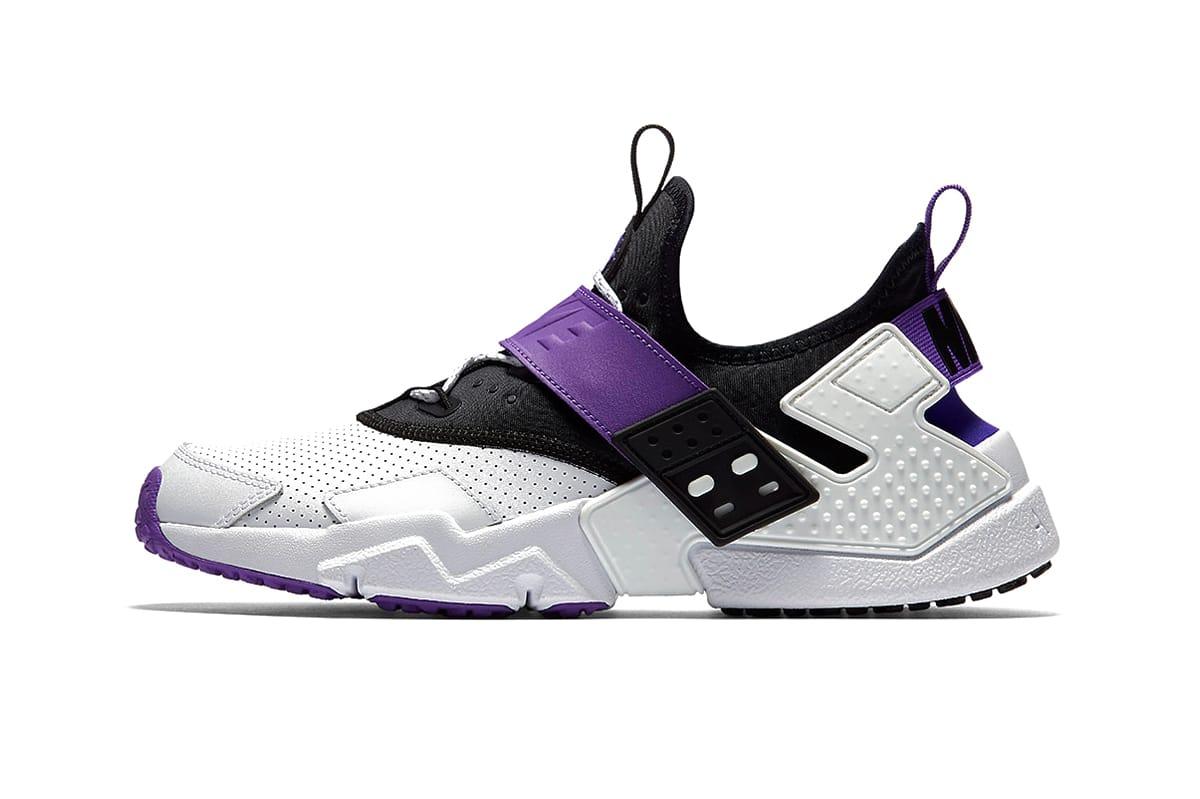 Nike Air Huarache Drift Purple Punch shoe drop release purchase