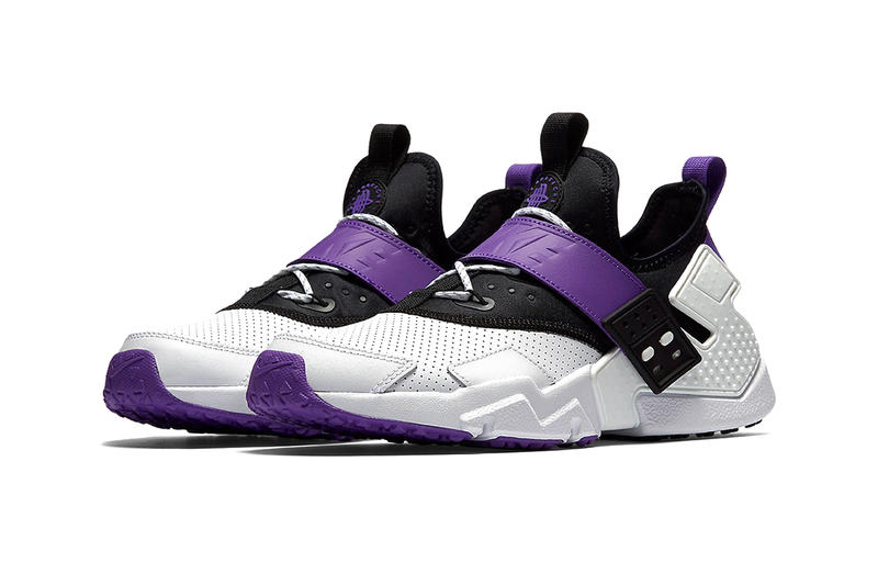 27b409b6c22dc Nike Air Huarache Drift Purple Punch shoe drop release purchase