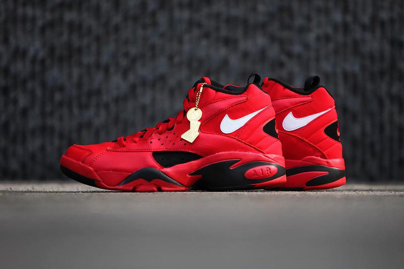 Nike Air Maestro II Trifecta scottie pippen red white black chicago bulls triple double finals may 10 2018 release date info drop