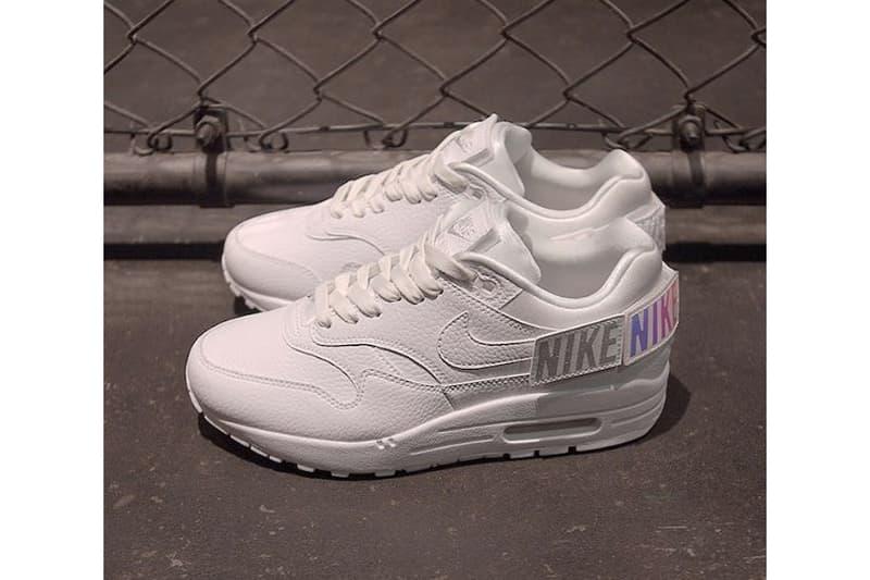 Nike Air Max 1 100 White sneakers footwear Velcro