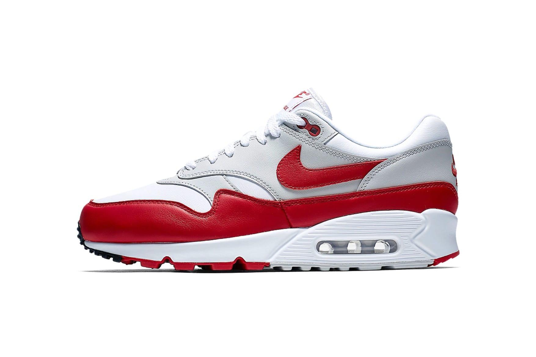air max 90 rouge et blanche