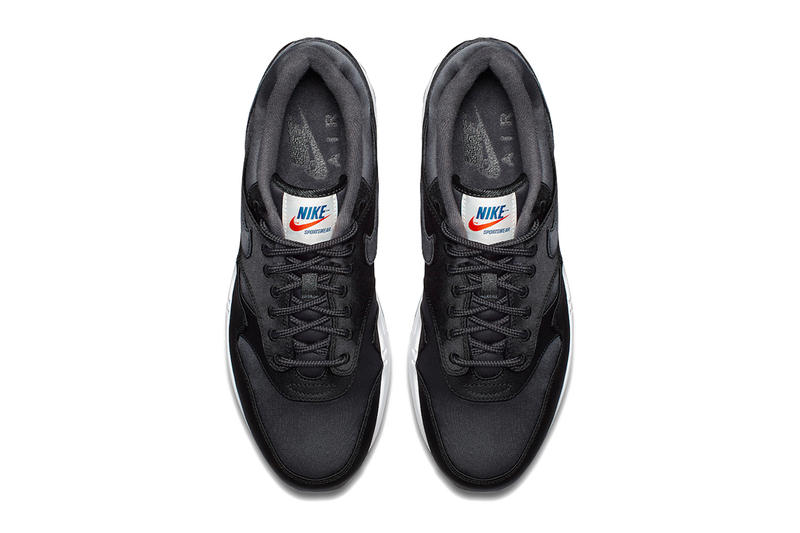 Nike Air Max 1 Satin Pack Red Blue Blue Mint Black sneakers footwear 3555ac55d