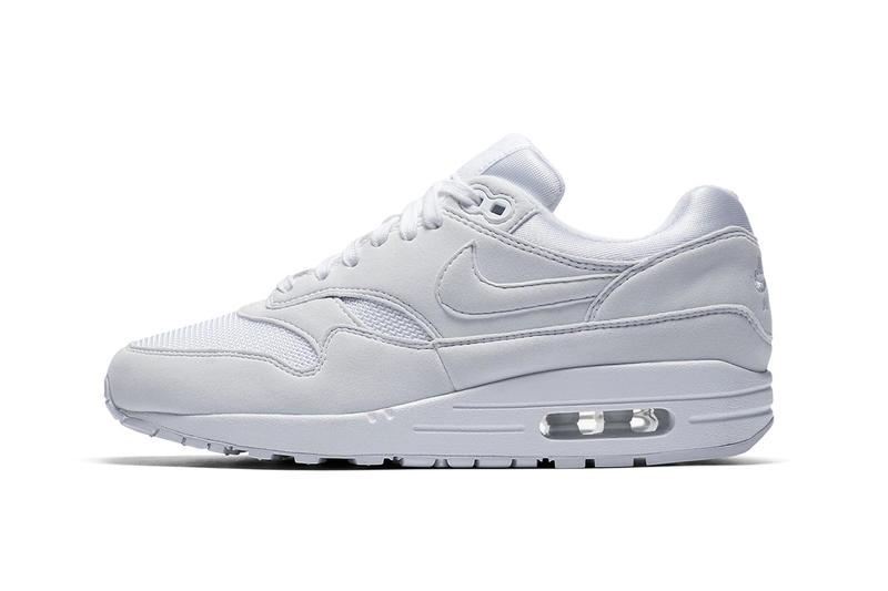 cheap for discount a648e f7a93 Nike Air Max 1 WMNS Triple White nike sportswear footwear 2018 may release  date info drop