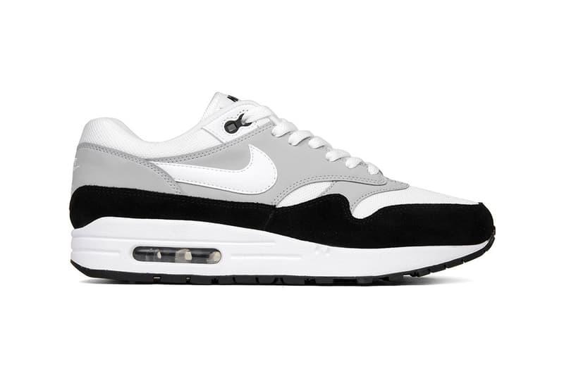 990b2706e67e3 Nike Air Max 1 Wolf Grey white black release info footwear sneakers