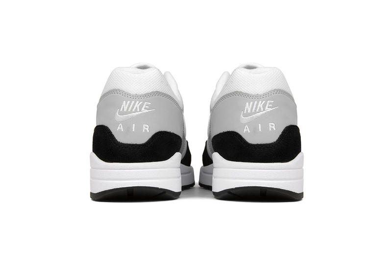 Nike Air Max 1 Wolf Grey white black release info footwear sneakers