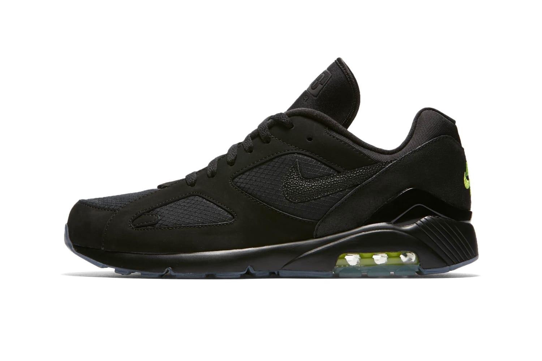 "Nike Air Max 180 Will Arrive In ""Black"