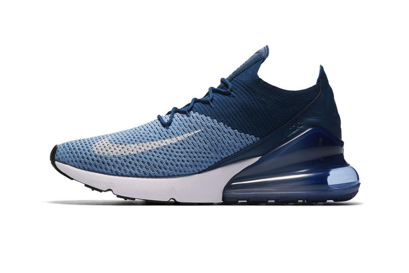 size 40 83785 b277f Nike Air Max 270 Flyknit Work Blue footwear nike sportswear 2018 april  release date info drop