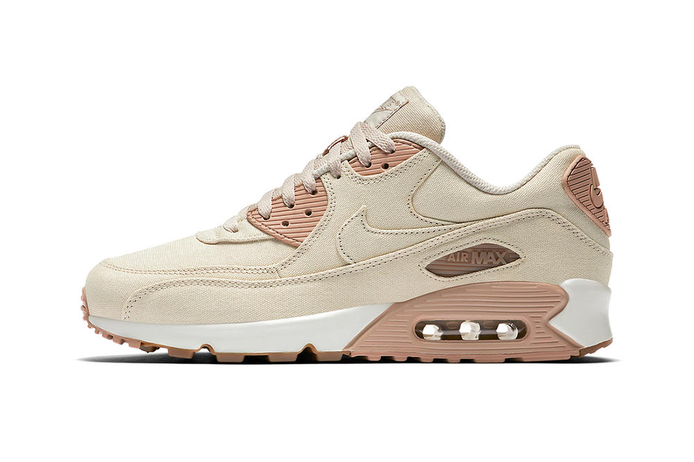 """Nike's Air Max 90 Gets Dressed In """"Linen Twill"""""""