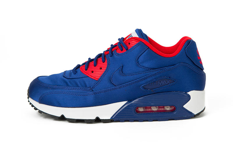 huge discount 3b1bf a5133 Nike Air Max 90 SE royal blue nylon first look sneaker footwear