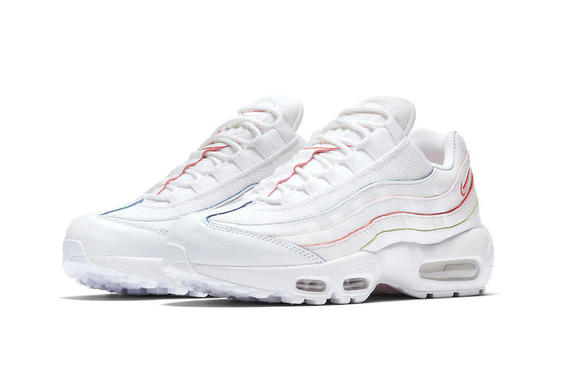 Nike Air Max 95 white red orange green blue nike sportswear 2018 footwear release date info drop spring summer april