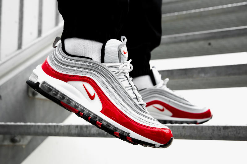 the latest 18f33 d705c Nike Air Max 97 Gym Red on foot 2018 footwear nike sportswear