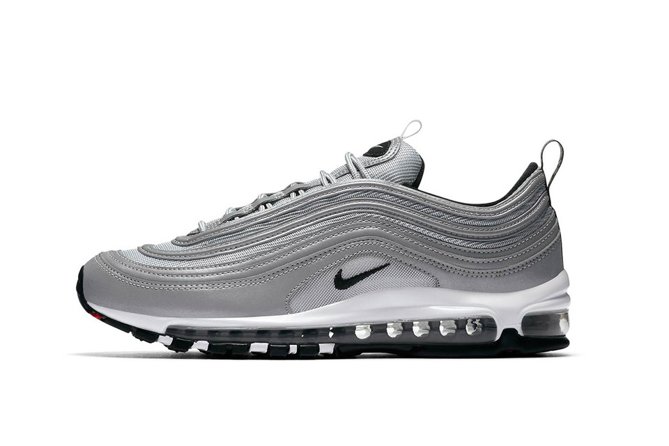 afaa8193b20b20 Nike s Air Max 97 Gets Covered in Reflective Silver