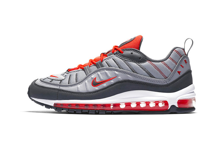 the latest da0db 48766 Nike Air Max 98 Turns Up the Heat in