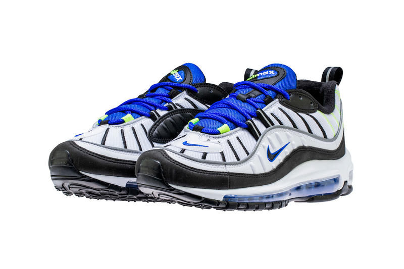 Nike Air Max 98 racer Blue nike sportswear may 2018 footwear release date info drop shoes sneakers