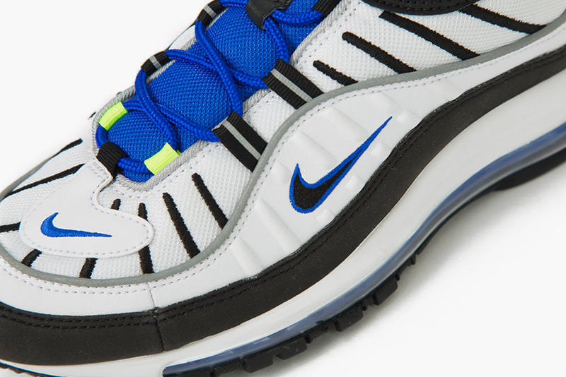 "Nike Air Max 98 ""Racer Blue"" release info date drop price purchase sneaker May 2018"