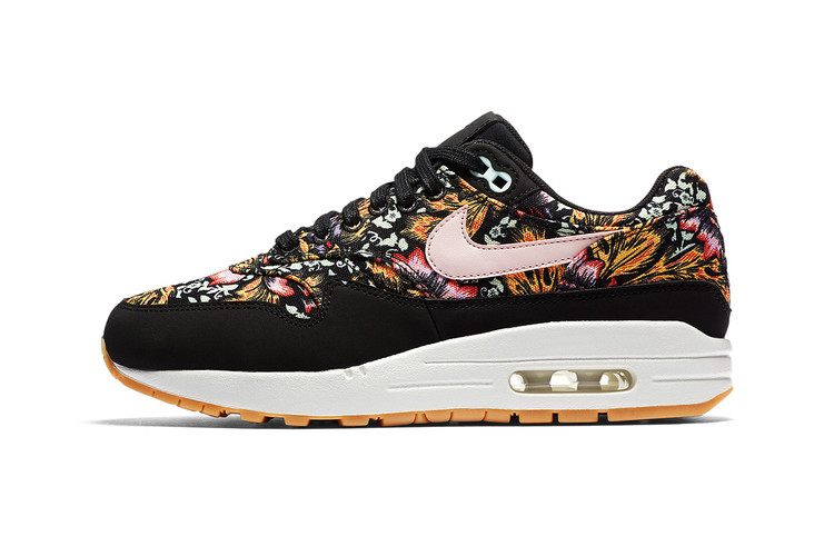 sports shoes 8269c 6eeeb Nike Gets Spring-Ready With Floral Air Max 1