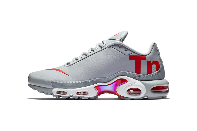 low priced 28442 d69f6 Nike Air Max Plus AQ1088 001 grey red white april may 2018 release date  info drop