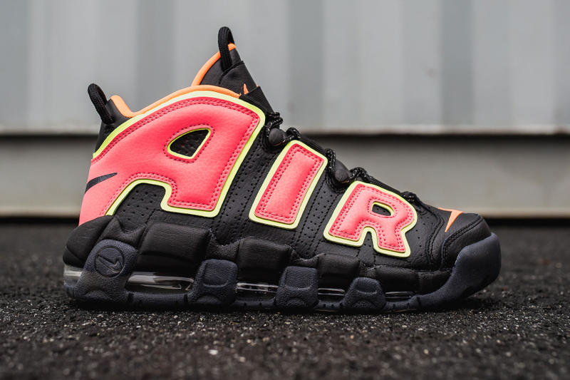 "Nike Air More Uptempo ""Hot Punch"" available now release purchase price"