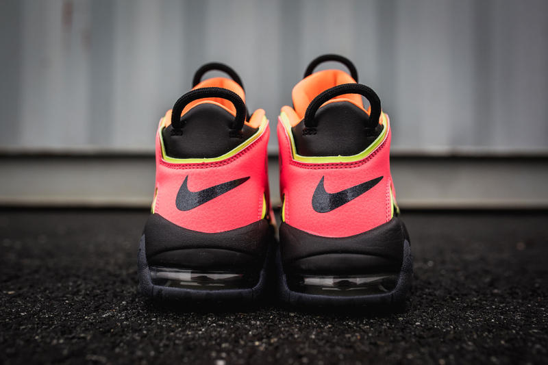 """Nike Air More Uptempo """"Hot Punch"""" available now release purchase price"""
