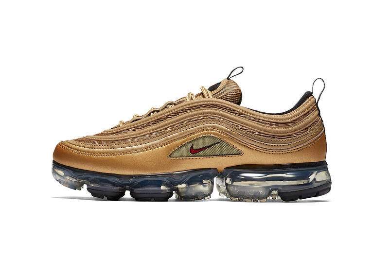 finest selection 9b586 82447 Nike Air VaporMax 97 in Metallic Gold | HYPEBEAST