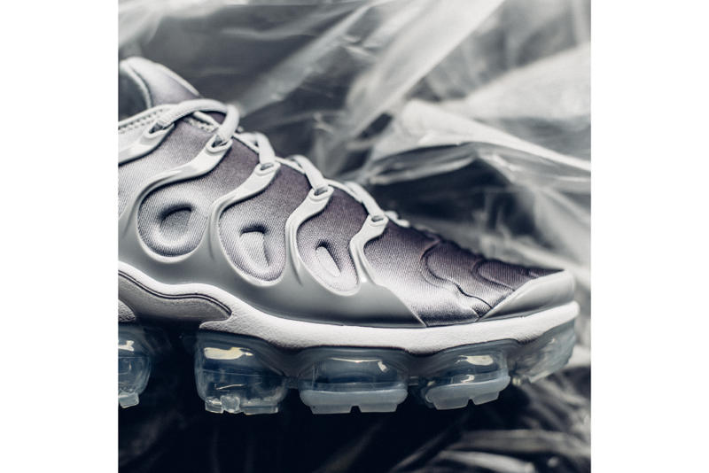 1932dd64f5c Nike Air VaporMax Plus Wolf Grey colorway release info drop date April 26  2018 sneaker purchase