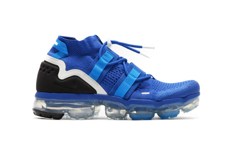 Nike Air VaporMax Utility Game Royal blue black white 2018 april spring summer ss18 release date info drop sneakers shoes footwear