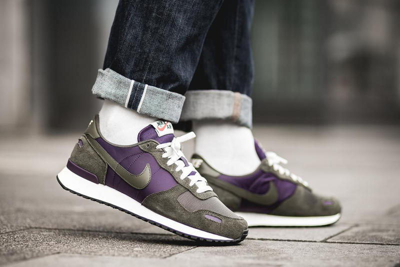 Nike Air Vortex Grand Purple Cargo Khaki 2018 april release date info drop sneakers shoes footwear afew