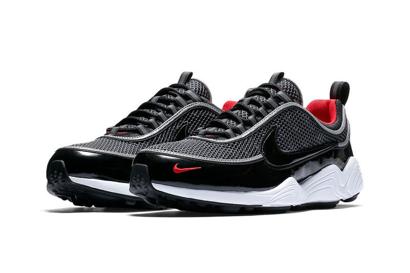 Nike Zoom Spiridon patent Black University Red release date info purchase