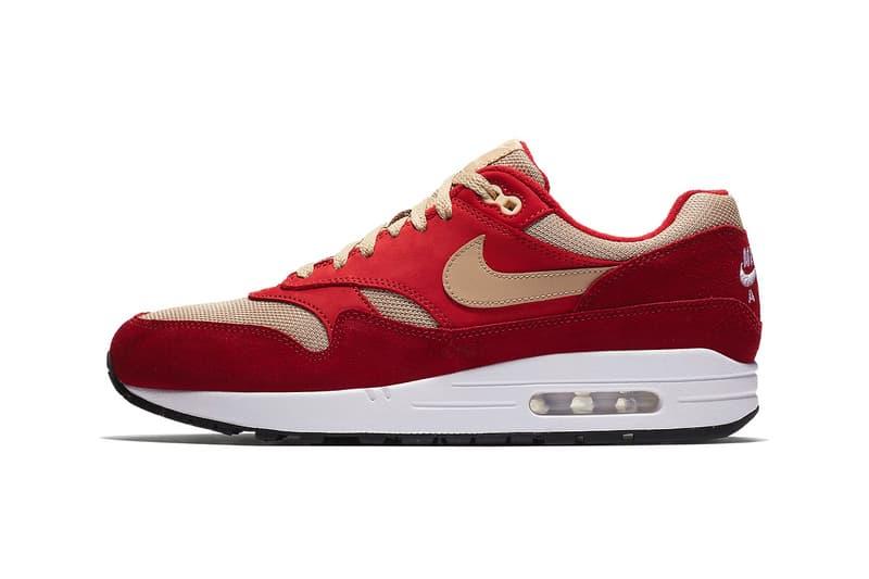 atmos Nike Air Max 1 red curry green curry nike sportswear footwear 2018