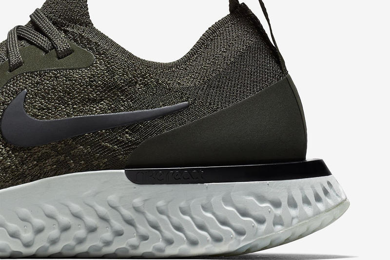 """Nike Epic React """"Olive"""" Release Date info price purchase available now men's women's"""