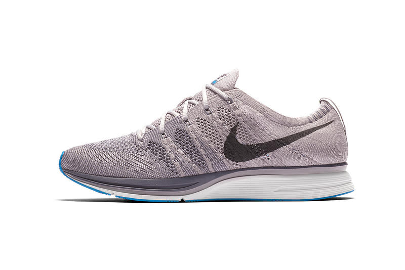 b0980b11755a Nike Flyknit Trainer Atmosphere Grey Thunder Wolf April 6 2018 release date  info drop sneakers shoes
