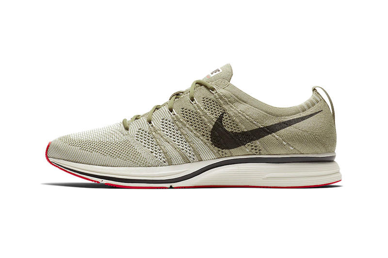 "Nike Flyknit Trainer ""Olive/Red"" First Look release date info price drop sneakers shoes footwear"