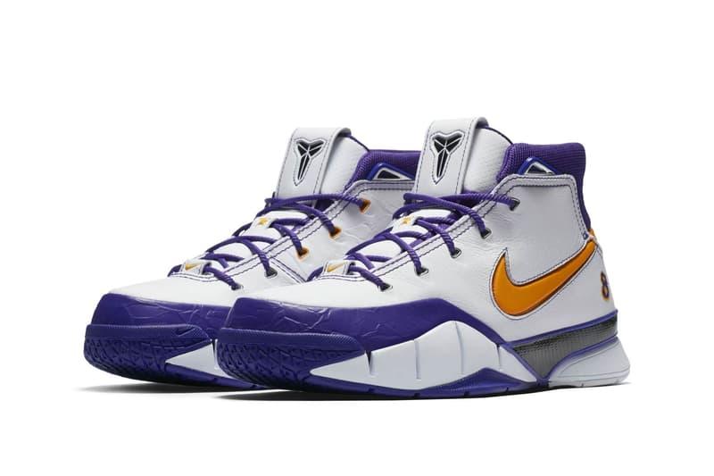 "Nike Kobe 1 Protro ""Final Seconds"" NBA playoffs basketball"