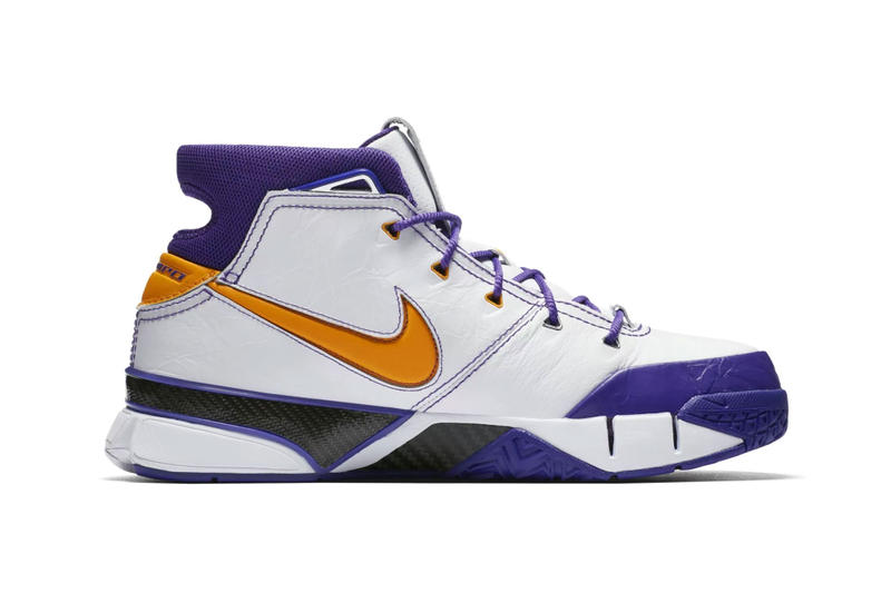 "Nike Kobe 1 Protro ""Final Seconds"" NBA playoffs basketball"
