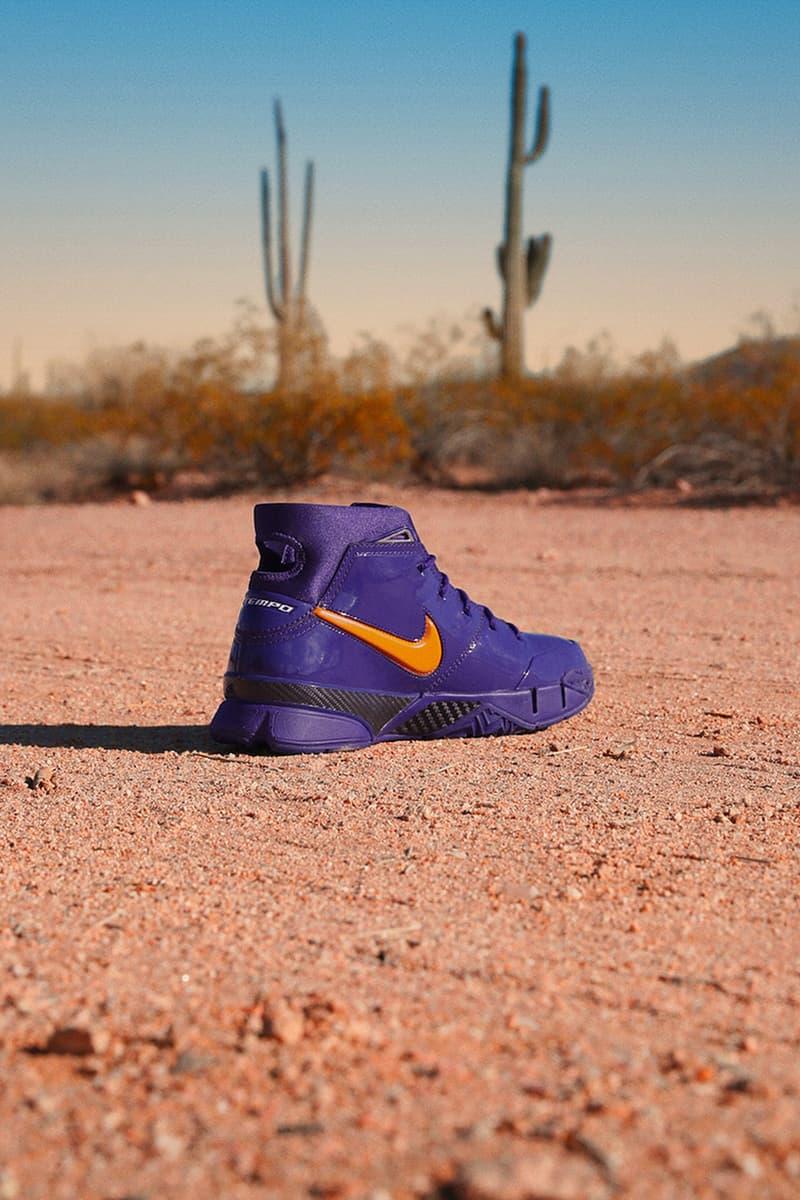 Nike Kobe 1 Protro PE Devin Booker release info purple orange kobe bryant phoenix suns