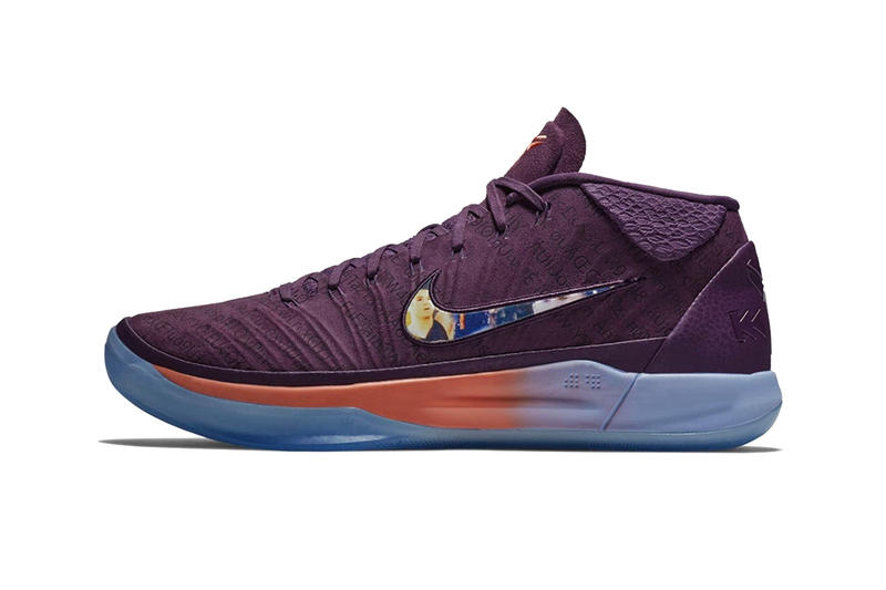 9fb9f1a7f0c Devin Booker Nike Kobe AD Player Exclusive release info purple orange  sneakers footwear