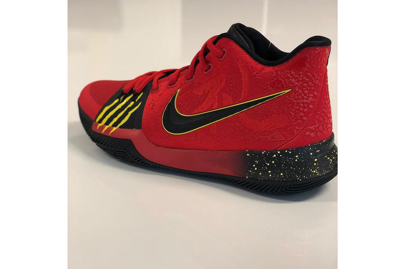 "designer fashion 8924e 794c9 Kyrie Irving Alternate Nike Kyrie 3 ""Bruce Lee"" 