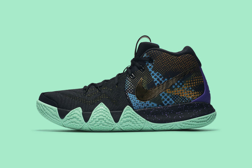 cheap for discount f1aad 91557 Nike Blends Mint Green   Black for Kyrie 4