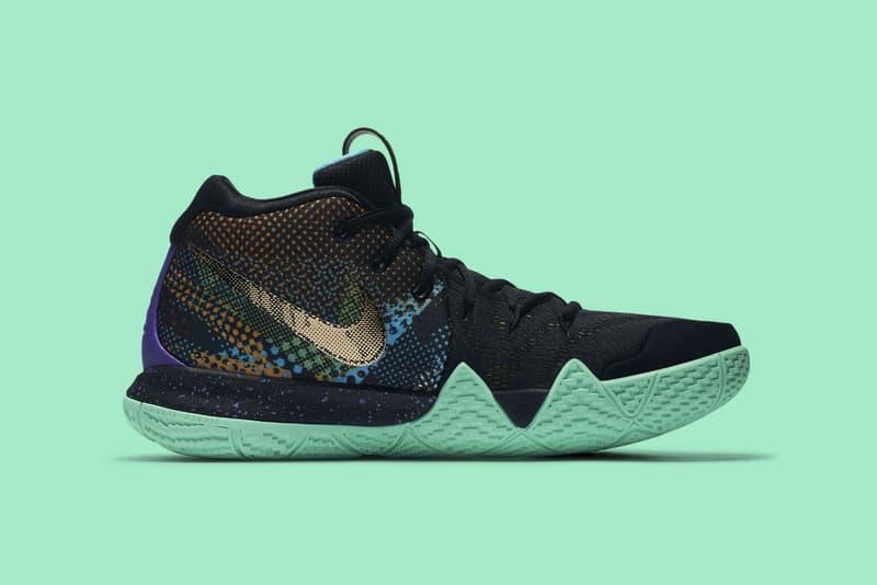 Nike Kyrie 4 Mamba Mentality april 13 2018 release date info drop sneakers shoes footwear kobe bryant irving Black Sonic Yellow Purple Venom AV2597 001