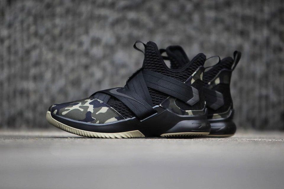 a3bf7ef983a9 Nike LeBron Soldier 12 Strive for Greatness Camo