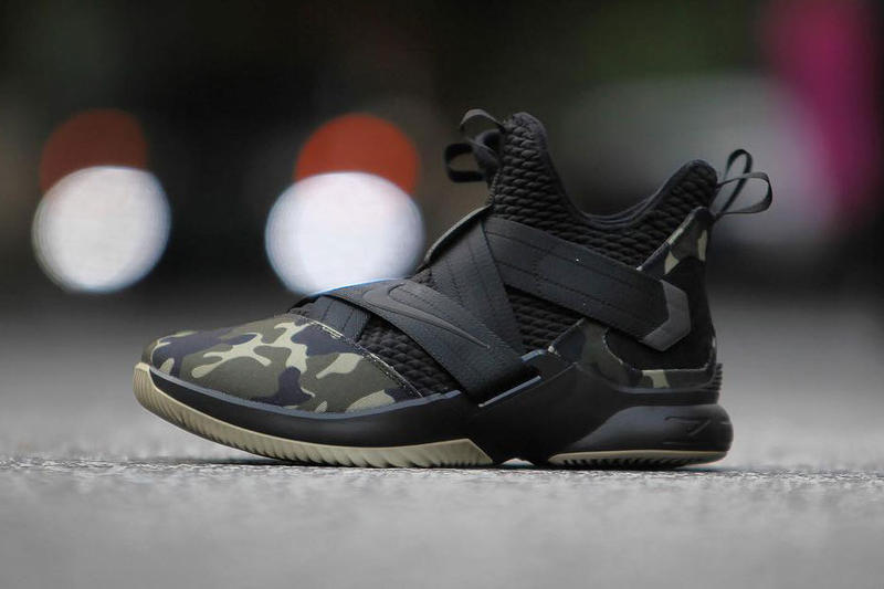 c2e6aa01397c4 Nike LeBron Soldier 12 Strive For Greatness military camo Release info  purchase LeBron James