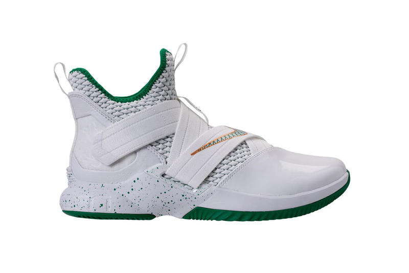 finest selection d5aab 4f3bd Nike LeBron Soldier 12 SVSM Home saint vincent saint mary may 5 2018  release date info